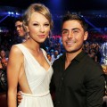 Taylor Swift and Zac Efron are seen at the 2012 Teen Choice Awards at Gibson Amphitheater in Universal City, Calif. on July 22, 2012