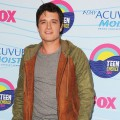 Josh Hutcherson poses in the press room during the 2012 Teen Choice Awards at Gibson Amphitheatre in Universal City, Calif. on July 22, 2012