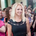 Britney Spears arrives at 'The X Factor' Season 2 auditions at the Greensboro Coliseum on July 8, 2012