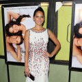 Olivia Munn steps out at 'The Babymaker' screening at The Silent Movie Theater in Los Angeles on July 24, 2012