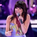 Carly Rae Jepsen performs onstage during the 2012 Teen Choice Awards at Gibson Amphitheatre in Universal City, Calif. on July 22, 2012