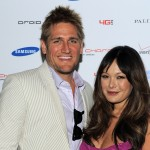 Curtis Stone and Lindsay Price attend the DROID Charge by Samsung Kentucky Derby viewing party hosted by Samsung and Verizon at Palihouse Holloway in West Hollywood, Calif. on May 7, 2011
