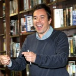 Jimmy Fallon promotes the new &#8216;Thank You Notes 2&#8217; at Barnes &amp; Noble Union Square in New York City on May 24, 2012