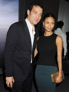 Clive Owen and Thandie Newton step out at the global launch of Audi City in London on July 16, 2012