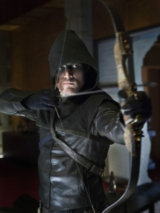 Stephen Amell in The CW's 'Arrow'