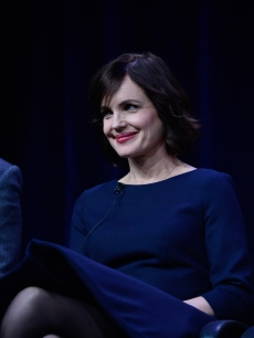 Elizabeth McGovern of Season 3 of 'Downton Abbey' speaks with the press during the PBS portion of the the TCA summer tour 2012 at the Beverly Hilton Hotel, July 21, 2012