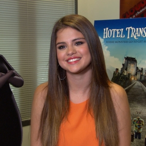 Selena Gomez Talks Working With Adam Sandler On Hotel Transylvania