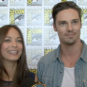 Kristin Kreuk &amp; Jay Ryan Talk Beauty &amp; The Beast - Comic-Con 2012