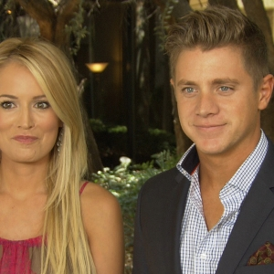 Emily Maynard & Jef Holm Happy As Can Be