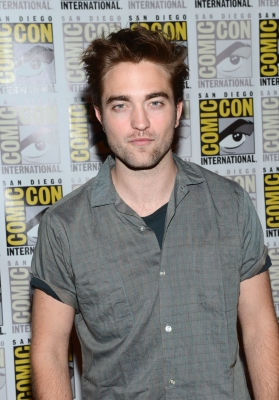 Robert Pattinson attends &#8216;The Twilight Saga: Breaking Dawn Part 2&#8217; panel during Comic-Con 2012 in San Diego on July 12, 2012