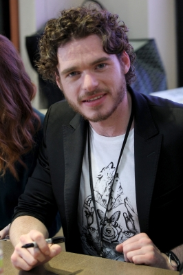 Richard Madden attends HBO&#8217;s &#8216;Game Of Thrones&#8217; during Comic-Con International 2012 at San Diego Convention Center on July 13, 2012