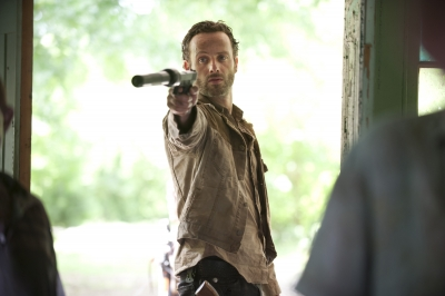 Rick in 'The Walking Dead'