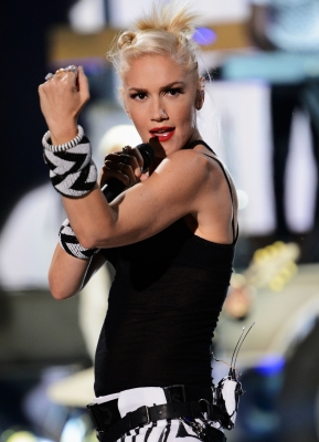 Gwen Stefani of No Doubt performs onstage during the 2012 Teen Choice Awards at Gibson Amphitheatre in Universal City, Calif. on July 22, 2012