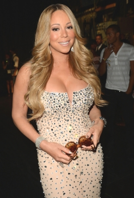 Mariah Carey attends the 2012 BET Awards at The Shrine Auditorium in Los Angeles on July 1, 2012