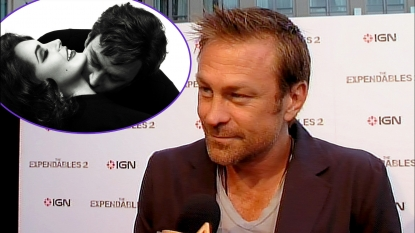 Grant Bowler, inset: Lindsay Lohan and Grant Bowler in Lifetime&#8217;s &#8216;Liz &amp; Dick&#8217;