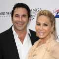 Dr. Paul Nassif and Adrienne Maloof attend the Good News Foundation's Feel Good fundraising luncheon at Club Nokia in Los Angeles on October 2, 2011