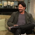 Joe Manganiello visits Access Hollywood Live  on July 30, 2012