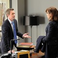 Matthew Perry with Julianna Margulies on &#8216;The Good Wife&#8217;