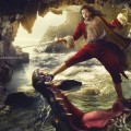 Russell Brand as Captain Hook in a portrait by Annie Leibovitz for Disney Parks