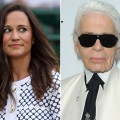 Pippa Middleton /  Karl Lagerfeld