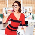 Victoria Beckham poses for Glamour Magazine's September 2012