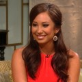Cheryl Burke visits Access Hollywood Live on August 1, 2012