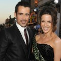 Colin Farrell and Kate Beckinsale arrive at the premiere of 'Total Recall' in Hollywood, Calif. on August 1, 2012