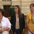 Michael Phelps' Mom & Sisters Discuss His Record-Breaking Performance - 2012 Summer Olympics