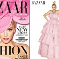 Gwen Stefani on the cover of Harper's Bazaar, September 2012