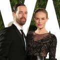 Michael Polish and Kate Bosworth attend the 2012 Vanity Fair Oscar Party Hosted By Graydon Carter at Sunset Tower in Los Angeles on February 26, 2012