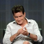 Charlie Sheen speaks onstage at the 'Anger Management' panel during the FX portion of the 2012 Summer TCA Tour, Beverly Hills, on July 28, 2012