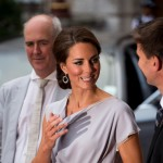 Catherine, Duchess of Cambridge attends the UK's Creative Industries Reception at the Royal Academy of Arts, London, on July 30, 2012