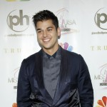 Rob Kardashian arrives at the 2012 Miss USA pageant the Planet Hollywood Resort & Casino, Las Vegas, on June 3, 2012