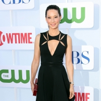 Lucy Liu dons a daring cutout dress at the CW/CBS/Showtime 2012 Summer TCA party at The Beverly Hilton Hotel in Beverly Hills on July 29, 2012
