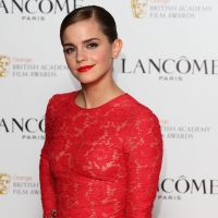 Emma Watson attends a special pre-Orange British Academy Film Awards party in London on February 10, 2012 