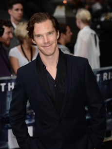 Benedict Cumberbatch attends European premiere of &#8216;The Dark Knight Rises&#8217; at Odeon Leicester Square, London, on July 18, 2012 