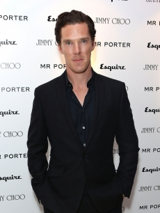 Benedict Cumberbatch arrives for the Esquire, Mr Porter, Jimmy Choo party as part of The Men London Collections at Corinthia Hotel London on June 15, 2012