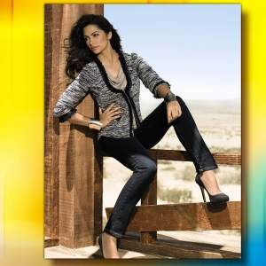Camila Alves Looks Gorgeous In I.N.C.