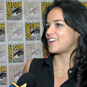 Michelle Rodriguez Talks Coming Back To Life In Resident Evil: Retribution - Comic-Con 2012