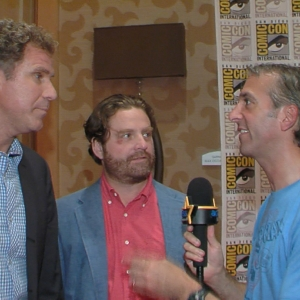 Will Ferrell & Zach Galifianakis Launch The Campaign At Comic-Con 2012