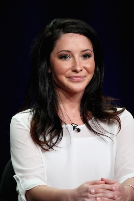 Bristol Palin speaks onstage at the 'Dancing with the Stars: All-Stars' panel during the Disney/ABC Television Group portion of the 2012 Summer TCA Tour on July 27, 2012