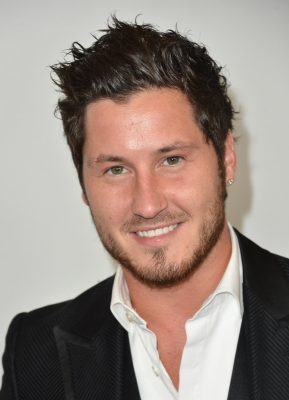 Val Chmerkovskiy arrives to the Disney ABC Television Group's 2012 TCA Summer Press Tour, Beverly Hills, on July 27, 2012