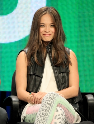 Kristin Kreuk speaks at the 'Beauty And The Beast' discussion panel during the CW portion of the 2012 Summer Television Critics Association tour at the Beverly Hilton Hotel on July 30, 2012