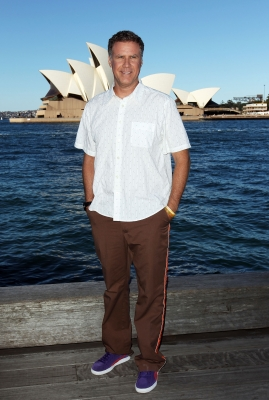 Will Ferrell poses during a media call at the Park Hyatt in Sydney, Australia on August 6, 2012 