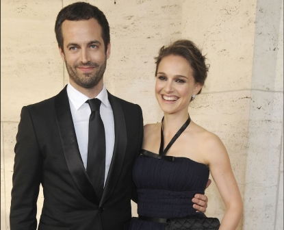 Benjamin Millepied and Natalie Portman step out in style at the New York City Ballet's Spring Gala at the David H. Koch Theater, Lincoln Center in New York City on May 10, 2012