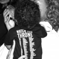 Beyonce seen feeding Blue Ivy Carter in August 2012