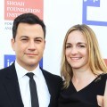 Jimmy Kimmel and Molly McNearney arrive at the USC Shoah Foundation Institute Ambassadors for Humanity Gala held at the Grand Ballroom at Hollywood & Highland Center on June 6, 2012