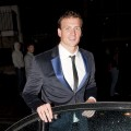 Ryan Lochte seen in London on August 7, 2012