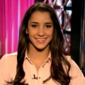 Aly Raisman on Access Hollywood Live on August 15, 2012