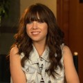 Carly Rae Jepsen chats with Access Hollywood on the set of 'America's Got Talent,' New York City, Aug. 15, 2012